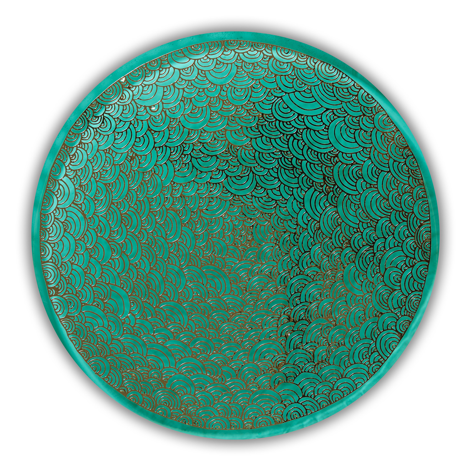 Gilded Teal